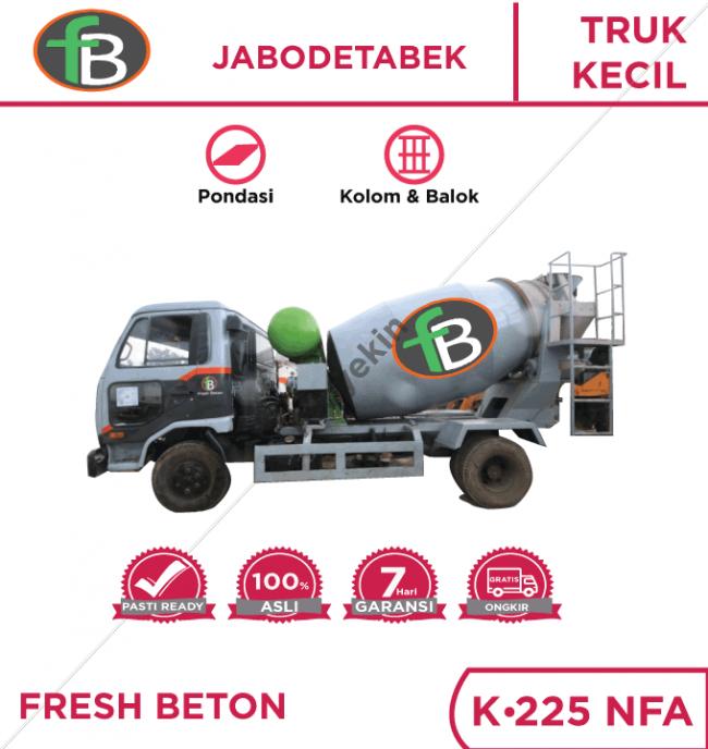 Minimix Fresh Beton Semen Tiga Roda K225 NFA