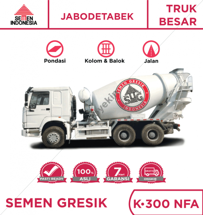 Readymix Semen Indonesia Beton K300 NFA