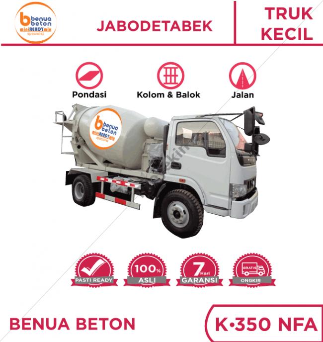 Minimix Benua Beton K350 NFA
