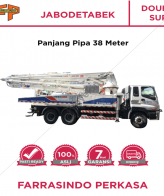 Farrasindo Pompa Beton Double Super Vol >100 M3