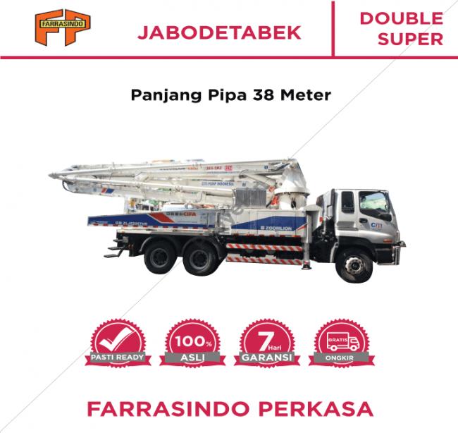 Farrasindo Pompa Beton Double Super Vol 26-50 M3