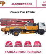 Farrasindo Pompa Beton Long Boom Vol 76-100 M3